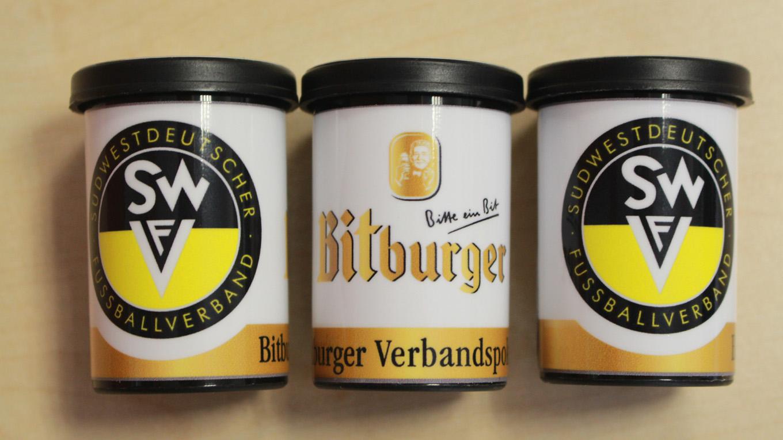 Loskugeln Bitburger Verbandspokal SWFV
