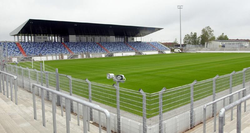 Sportpark Husterhöhe als Austragungsort des Finaltag der Amateure 2017 des SWFV