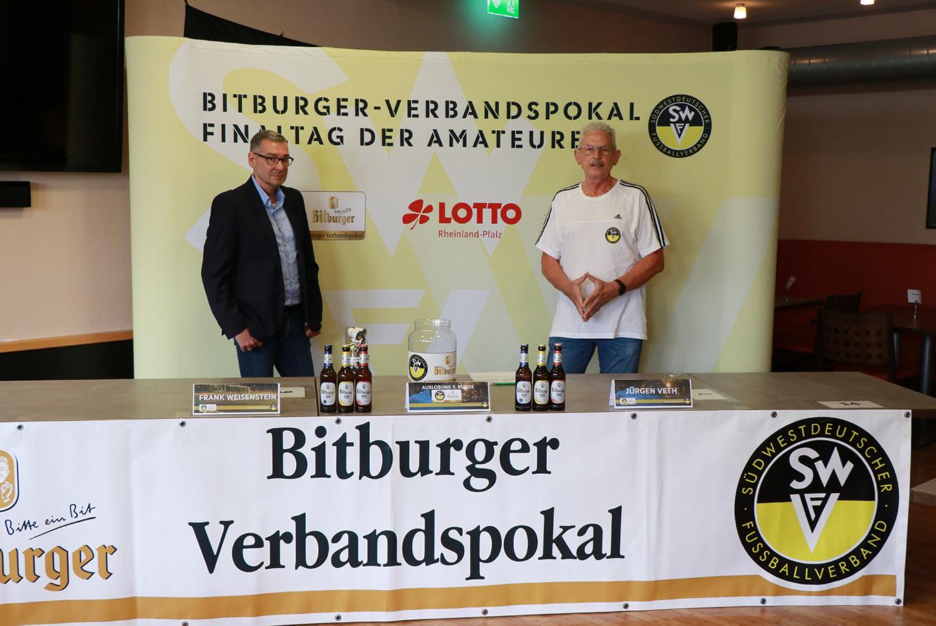 Auslosung der 3. Runde im Bitburger Verbandspokal 2020/21