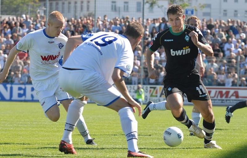 Miroslav Klose im Dress von SV Werder Bremen